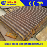 Kiefer-Zerkleinerungsmaschine zerteilt hohe Mangan-Stahlbacke-Zwischenlage-Platte