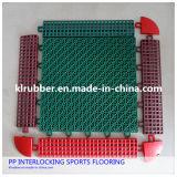 Pp Suspended Interlocking Sports Flooring per Outdoor Court