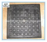 鋳鉄またはGgg50 600X600の延性がある鋳鉄の正方形のマンホールカバー
