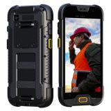 5 pouces 4G Lte IP68 raboteux imperméabilisent Smartphone avec de la mémoire 2+16GB et l'appareil-photo de MP 5+13 et ultra la lampe-torche de la lumière DEL