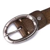 China-Fabrik Soem-Entwurfs-Form-Artmens-echtes Leder-Entwerfer-Riemen