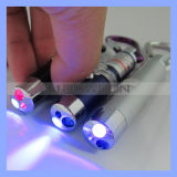 Money Detector Laser Poniter LED Flashlight를 위한 소형 Keychain UV Light