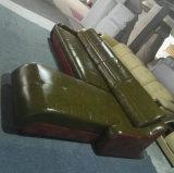 녹색 현대 L 모양 가죽 소파 홈 가구 (C22)