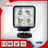 40W luz del trabajo del CREE LED del camino