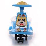 Пластичный автомобиль качания младенца с нот и светлым Китаем