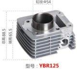 Cilindro del motociclo Ybr125 per il formato di foro di Motorcycl YAMAHA 54mm