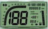 Tn отражательный LCD для индикации отметчика времени счетчика энергии