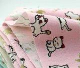 子供の摩耗のスーツの服のための40%Cotton 60%Linenの印刷ファブリック