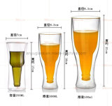 Bar à la mode Drinkware Creative Upside Clear Beer Glass Cup