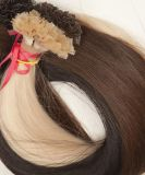 もつれおよびShedding FreeヨーロッパのRemy Flat TIP Hair Extension