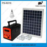 Многофункциональная солнечная домашняя осветительная установка с батареей Li-иона регулятора обязанности все в одном наборе