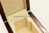 Boîte-cadeau en bois de bijou de laque à haute brillance