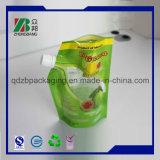 Custom Printng матовый черный Вакуумный пакет пластиковой упаковки печать с Doypack носик для сока, вино, молоко и упаковки для напитков