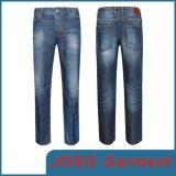Heet verkoop de Modieuze Rechte Jeans van de Mensen van het Been (JC3068)