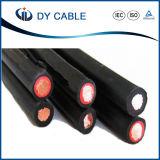 A certificação do TUV estanhou o cabo solar do picovolt do fio de cobre/cabo solar 6mm2