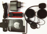 Casque de moto Casque d'interphone Bluetooth 800m GPS et MP3