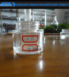 Fles van de Room van het Glas van het Glaswerk breed-Mouthed de Transparante Kosmetische