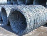 溶接された金網を作り出すための鋼線棒