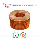 Tuyau de feuille de cuivre, laiton / tuyau d'aluminium