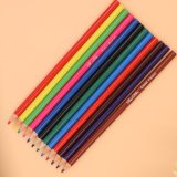 12PCS Plastic Color Pencil in Round Shape with Sharpened End