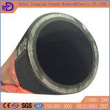 wand sich Stahldraht 4sp schwarzer Gummiöl-Schlauch
