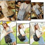 Farben PU-Frauen-Handtasche PU-Arbeitsweg-Segeltuch-Schule-Einkaufen-Laptop-Damentote-kosmetische Beutel-Rucksack-Dame Handbags des Fonds-vier