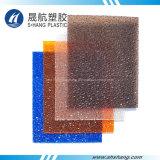 Hoja clara y de bronce del diamante de la PC del policarbonato