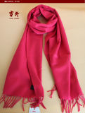 2134カシミヤ織のスカーフはウールのスカーフのヤクのウールのスカーフを編んだ