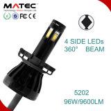 最もよい車LEDのヘッドライトの球根H3 H1 H7 H11 9005 9006 H14 12V/24V