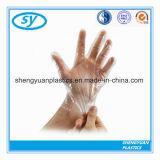 Устранимые перчатки пластмассы PE