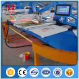Machine d'impression automatique en sérigraphie ovale