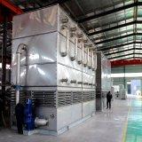 Dispositivo di raffreddamento evaporativo a controcorrente per industriale