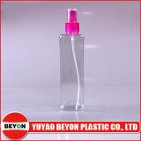 Transparente leere quadratische geformte Plastikflasche des spray-280ml (ZY01-C020)