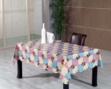 Het Tafelkleed van de polyester met Niet-geweven Steun (tj0035-a)