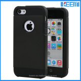 Hybride PC+TPU Spigen Schokbestendige Mobile Phone Case voor iPhone 5/5s