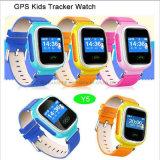 GPS+Lbs 위치 (Y5)를 가진 아이 GPS 추적자 시계는 이중으로 한다