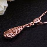 Milieuvriendelijk nam de Gouden Geplateerde Daling Gestalte gegeven Juwelen van de Halsband van de Tegenhanger voor Vrouwen toe
