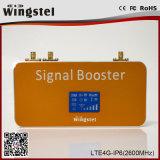 Novo design Lte 4G 2600MHz repetidor de sinal de celular com antena