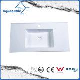 Простой дизайн ванной комнаты счетчик Polymarble бассейна радиатора