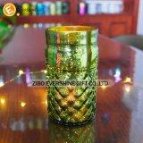 Sostenedor de vela de cristal de Tealight para la boda y la decoración casera