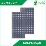 Mono cristallin avec panneau solaire 203W 72pcs cellule de 5 pouces