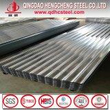 Tôle d'acier couvrante galvanisée ondulée