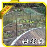 熱い販売のためのオーストラリアの標準証明書が付いている緩和されたガラスの柵