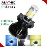 Luz auto caliente de las ventas LED para el coche H1 H3 880 881 H4 H7 H11 9005 9006