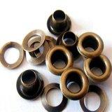 Occhielli d'ottone su ordinazione del gommino di protezione del metallo per la borsa