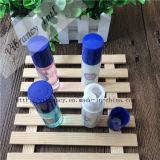 高品質のホテルの青および白い磁器パターン使い捨て可能なシャンプー
