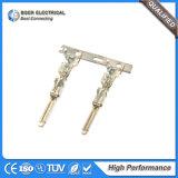 전기 남성과 여성 철사 연결관 단말기를 주름을 잡는 자동 케이블