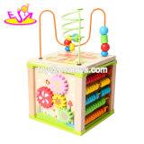 Neue heißeste lustige kleine Welthölzernes Aktivitäts-Spielzeug für eine Kind-Baum- und Pflanzenschule W11b179