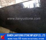Kitchen Countertop를 위한 Tiles&Slabs Granite Black Pearl