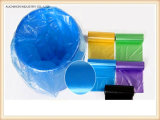 Крена мешка отброса мешка погани PE мешок ящика устранимого пластичный